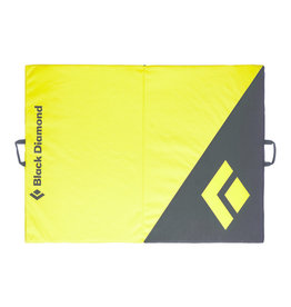 Black Diamond CIRCUIT Crash Pad - Black/Lemon Grass