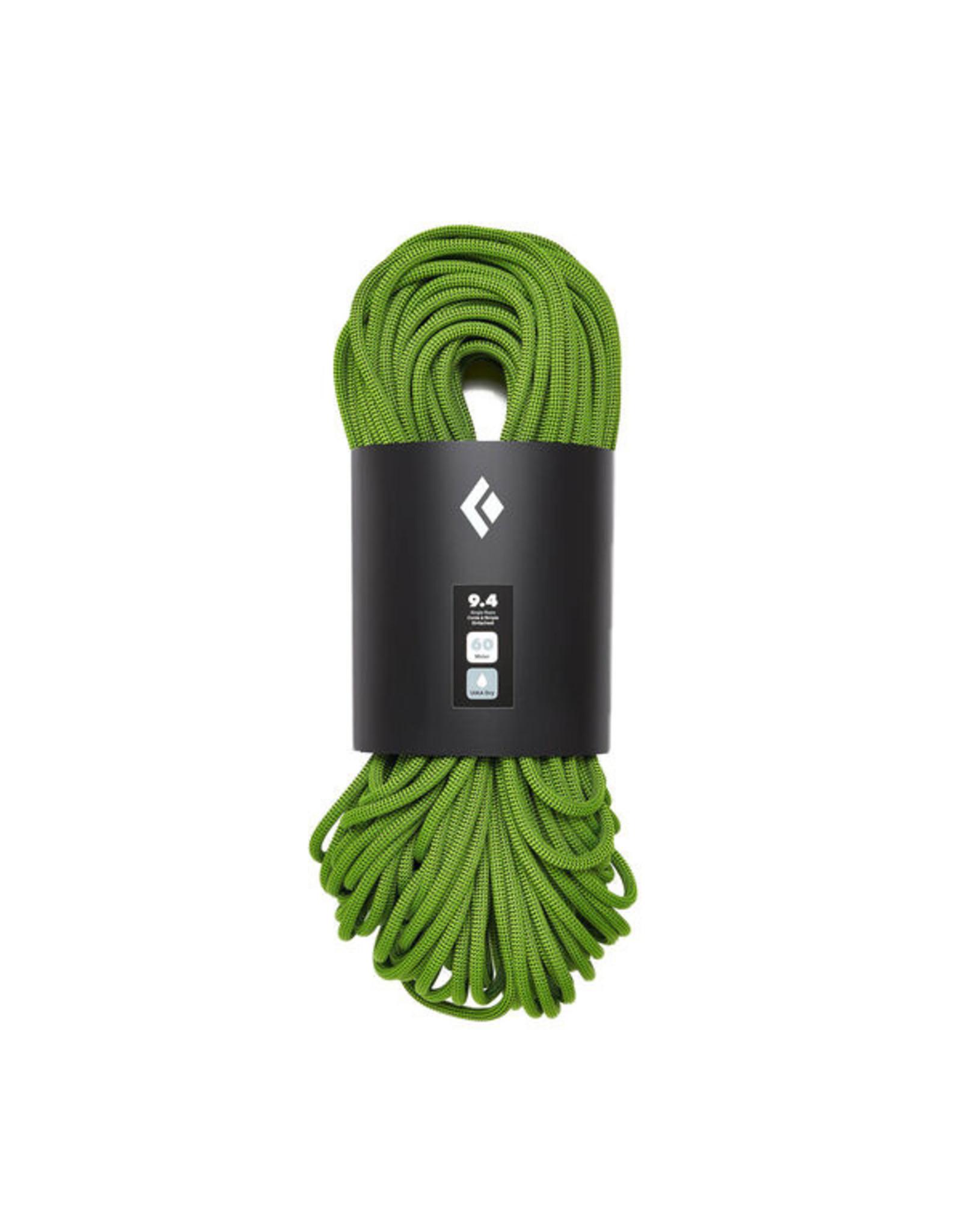 Black Diamond 9.4 Dynamic Rope - 60m - DRY