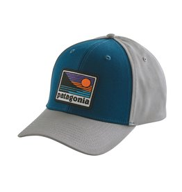 Patagonia UP AND OUT ROGER THAT HAT Big Sur Blue