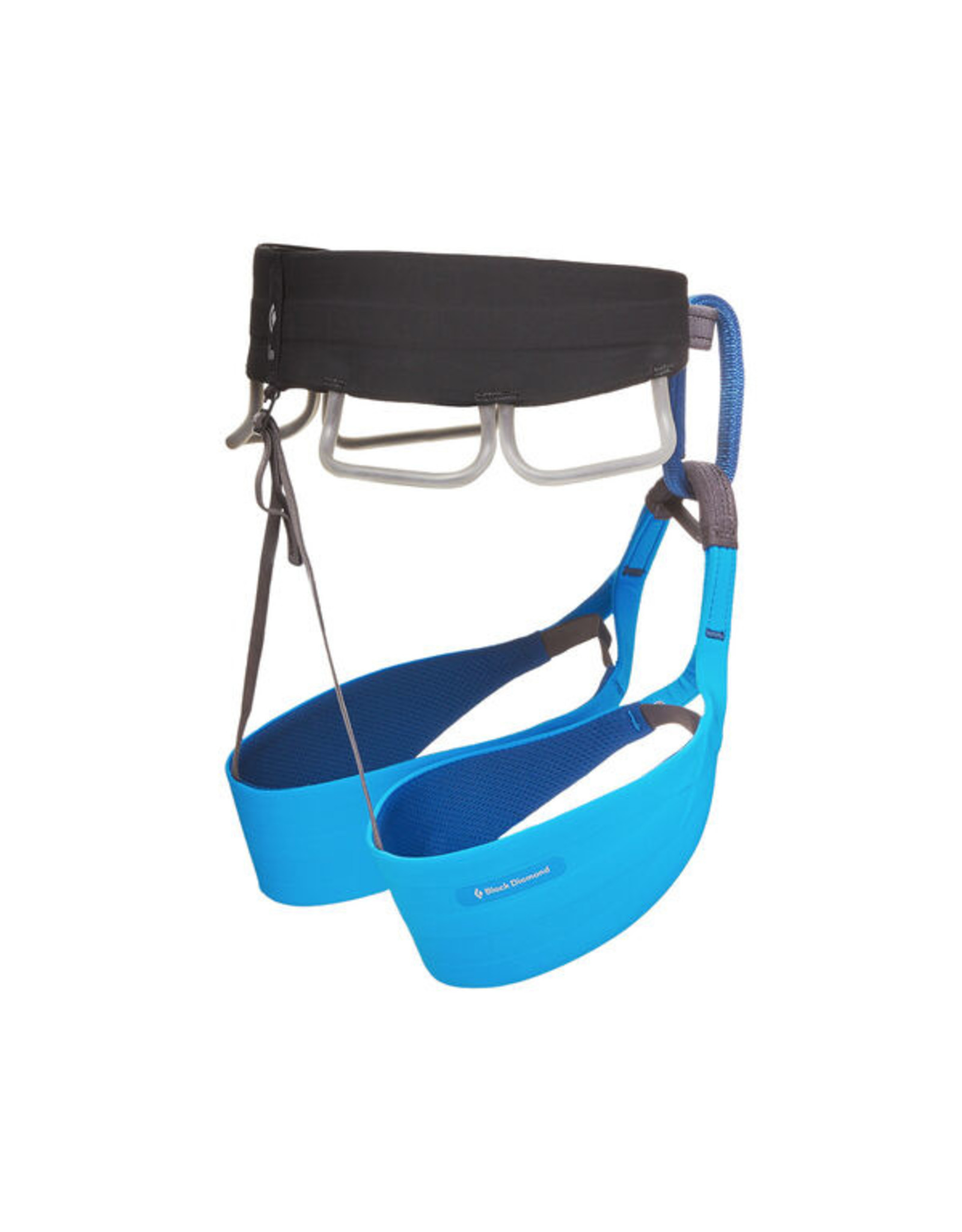 Black Diamond Solution Harness - Black/Ultra Blue