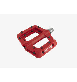 RaceFace Chester Pedals - Platform, Composite Red