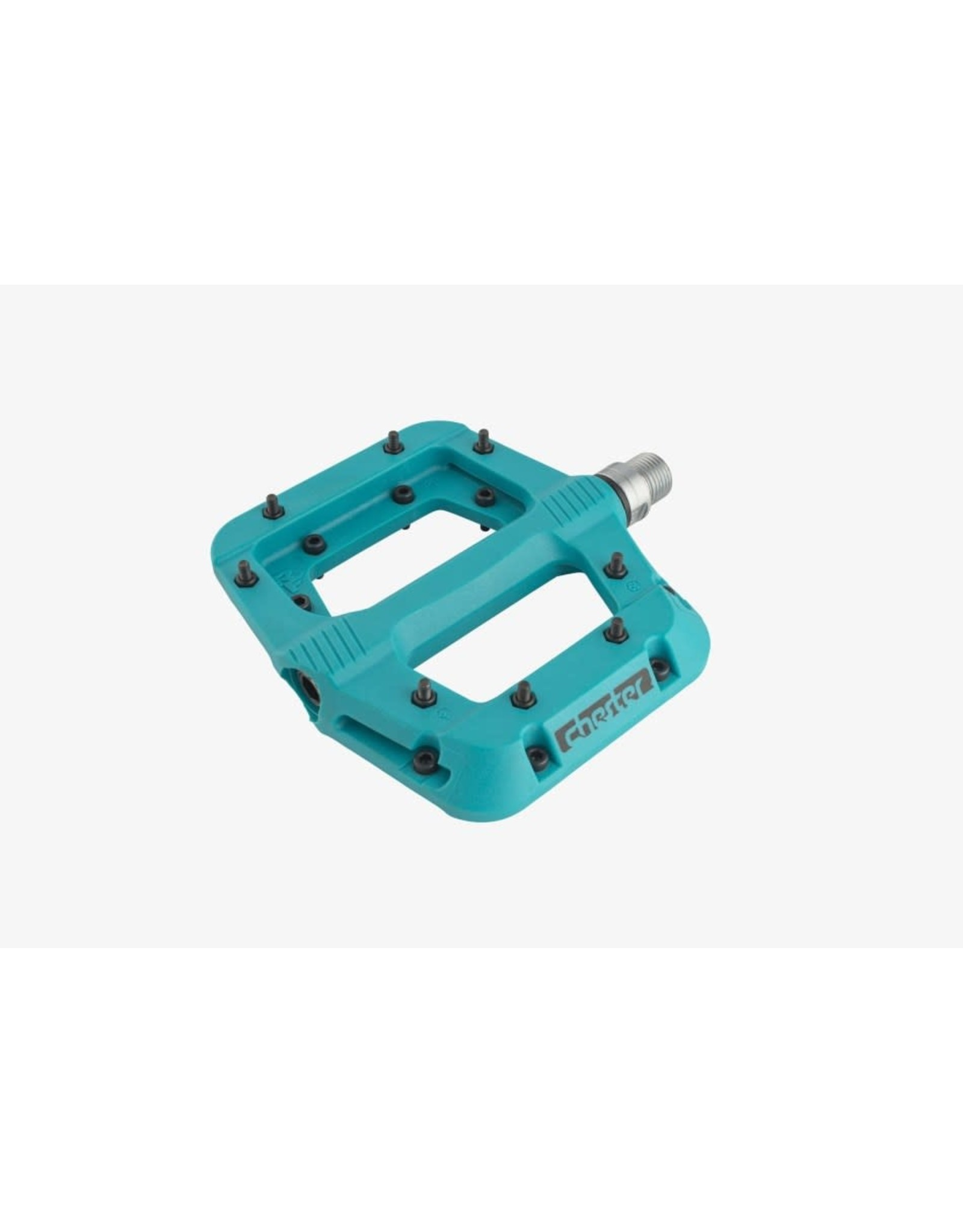 RaceFace Chester Pedals - Platform, Composite, Turquoise