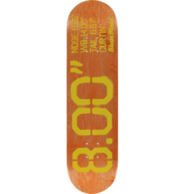 Skate Mental Curtin Size Deck - 8.0