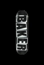 Baker Brand Logo Deck Blk/Wht - 8.125