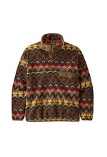 Patagonia Men's Lightweight Synch Snap-T Pullover Companions Big: Logwood Brown
