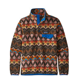 Patagonia W's LW Synch Snap-T P/O Companions Big: Anthos Pink