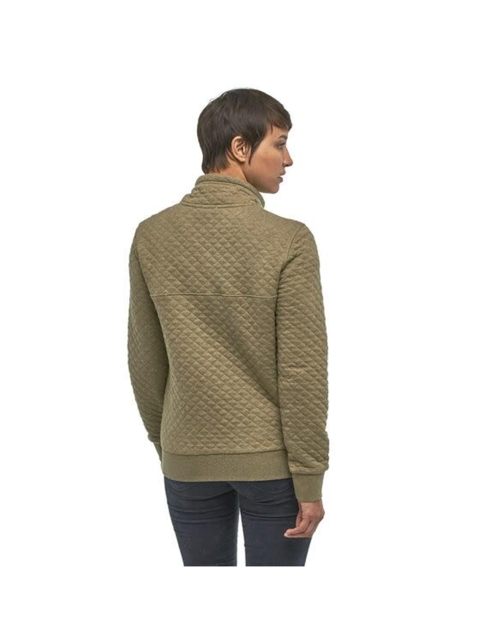 Patagonia W's Organic Cotton Quilt Snap-T P/O - Sage Khaki