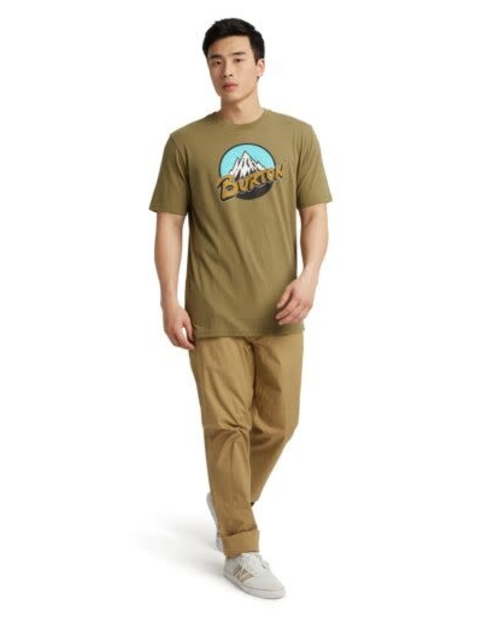 Burton Retro Mountain Short Sleeve T-Shirt