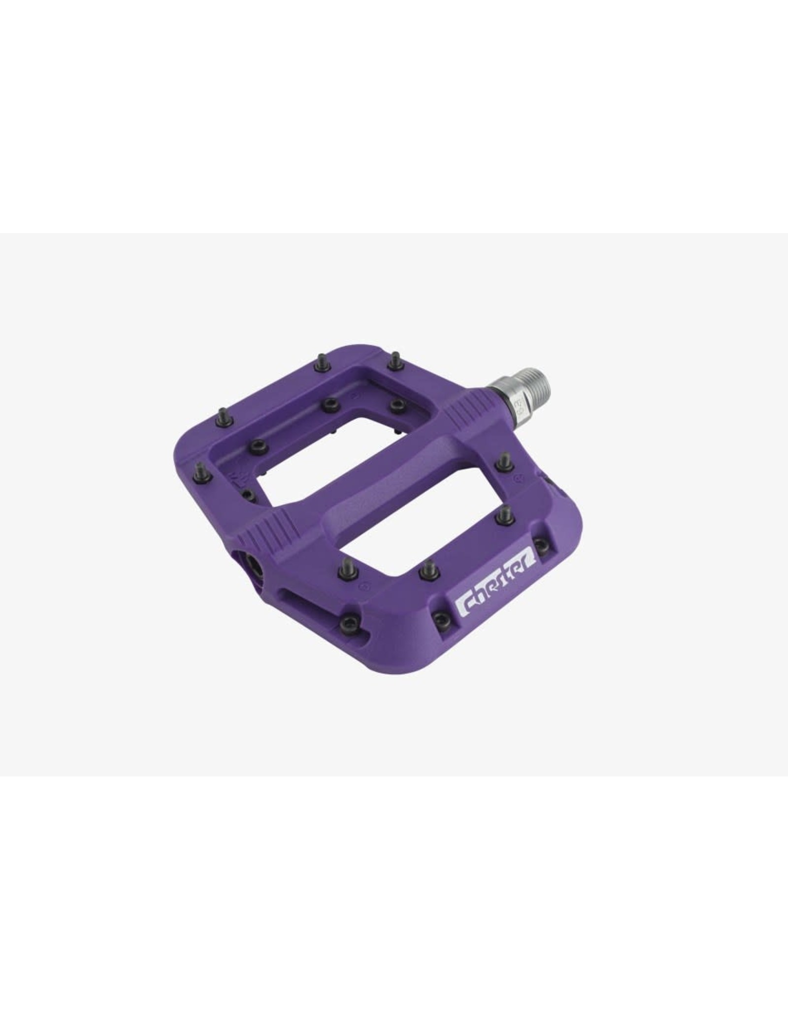 Race Face Chester Pedals-Platform, Composite, Purple