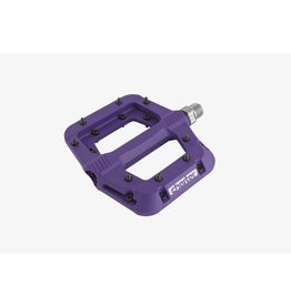Race Face Chester Pedals-Platform, Composite, Purple