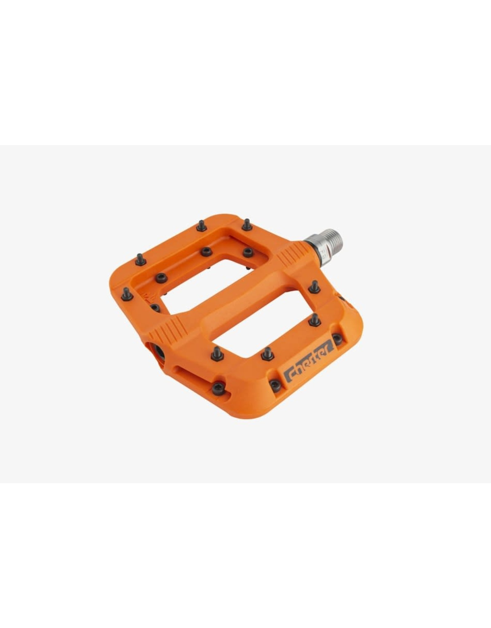 RaceFace Chester Pedals-Platform, Composite, Orange