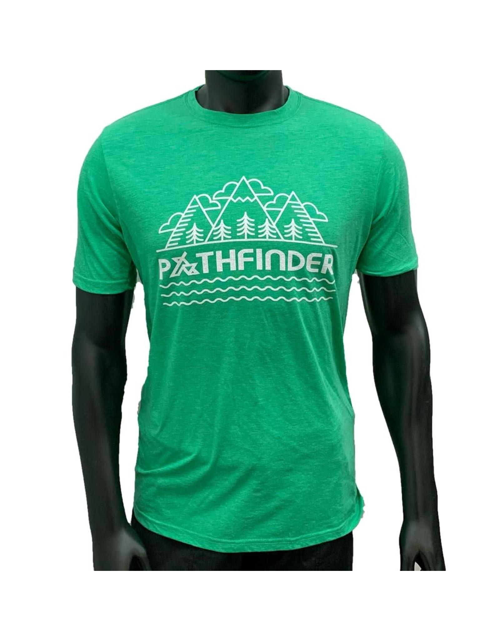 Pathfinder Linescape Crew Tee Envy/White