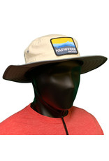 Pathfinder Lite Wide Brim Hat Blue/Gold Mountains