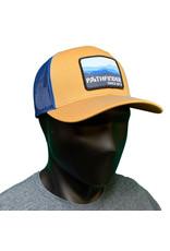 Pathfinder Mesh Back Trucker Blue Mtns
