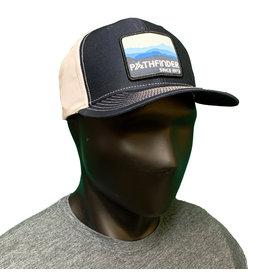 Pathfinder Twill Back Trucker Blue Mountains