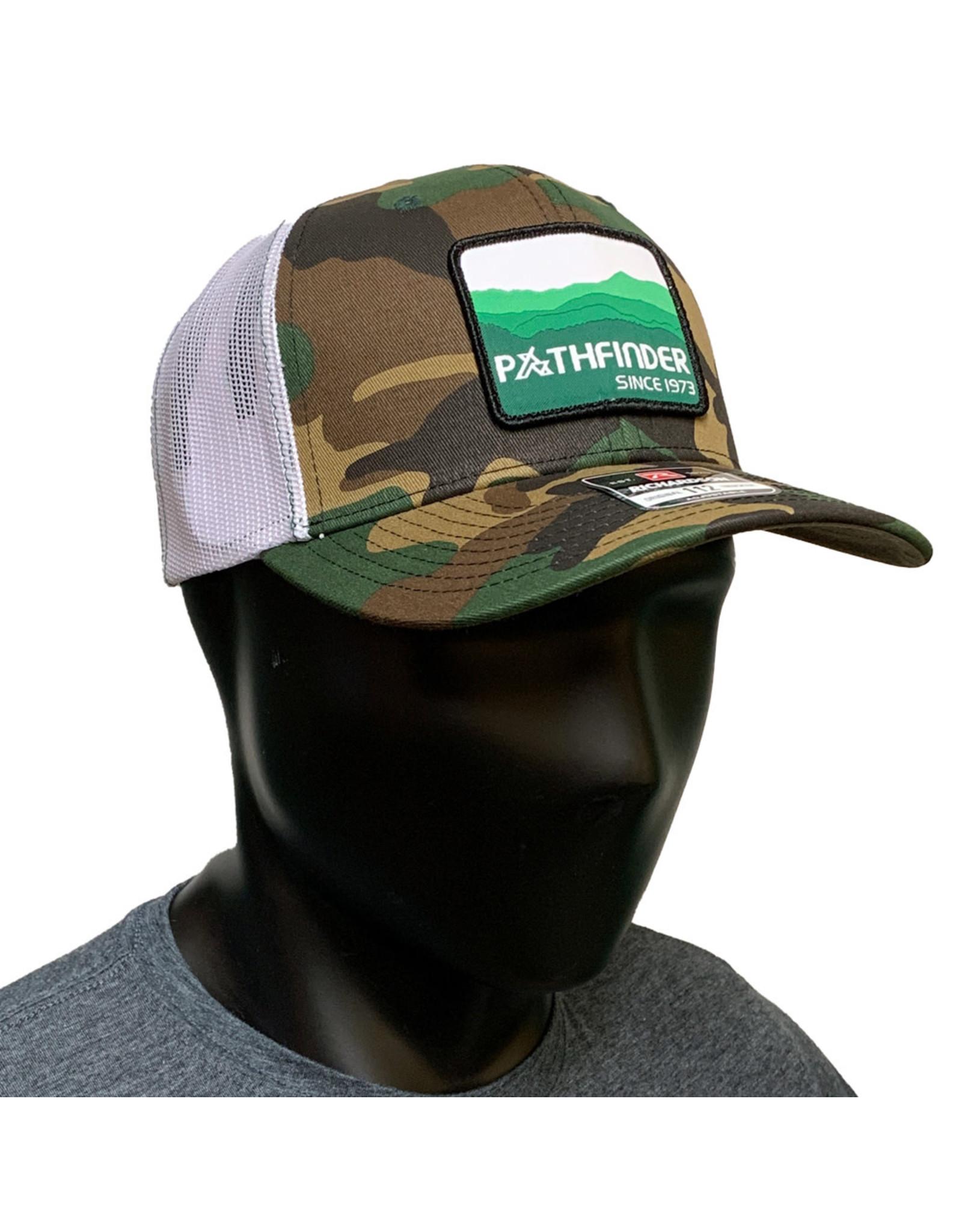 Pathfinder Mesh Back Trucker Green Mountains