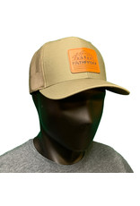 Pathfinder Mesh Back Trucker Leather Linescape