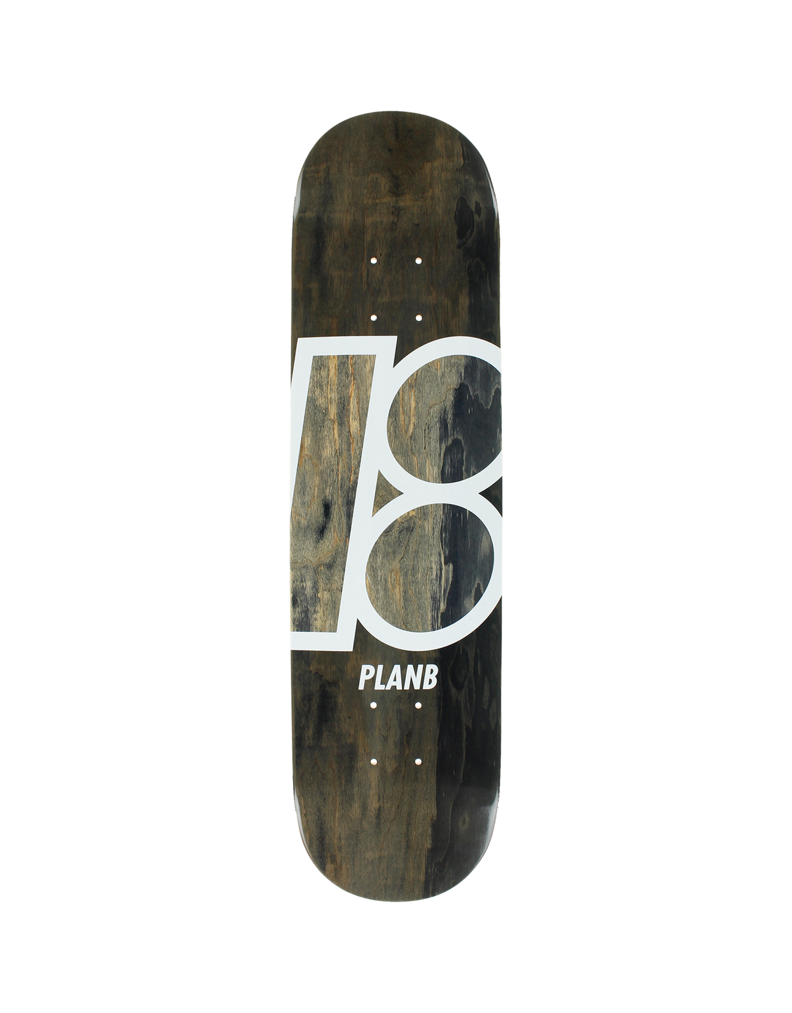 Plan B STAINED DECK-7.75 BLACK