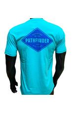 Pathfinder Diamond Tee Tahiti Blue/Royal