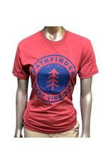 Pathfinder Pine Tree Tee Cardinal/Royal