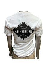 Pathfinder Diamond Tee White/Black