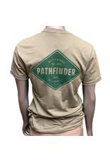 Pathfinder Diamond Tee Light Olive/Forest
