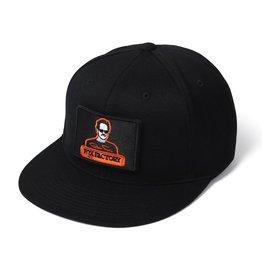 Patch Snapback Hat-Black