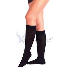 ABCTEKS Compression CLOSED TOE BLACK STOCKINGS