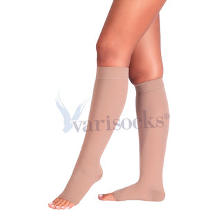 ABCTEKS Infragenual Opened Toe Stockings