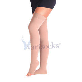 ABCTEKS Over knee Compression OPENED TOE STOCKINGS
