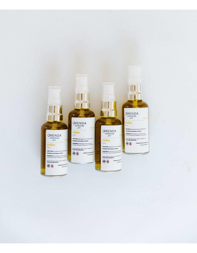Orenda Botanicals Plus Relax - Massage Oil