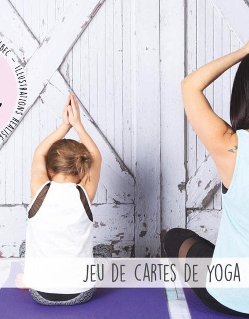 Jeu de cartes de yoga pour enfants