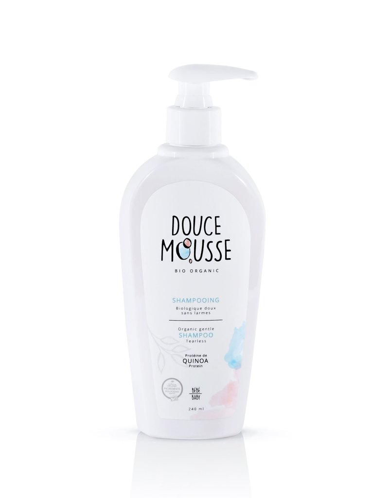 Douce mousse Shampoing