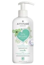 Shampoing et gel douche 2 en 1 Baby Leaves
