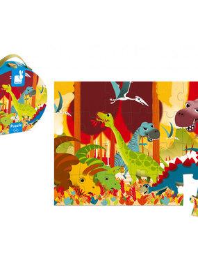 Casse-tête 24 mcx Dinosaures