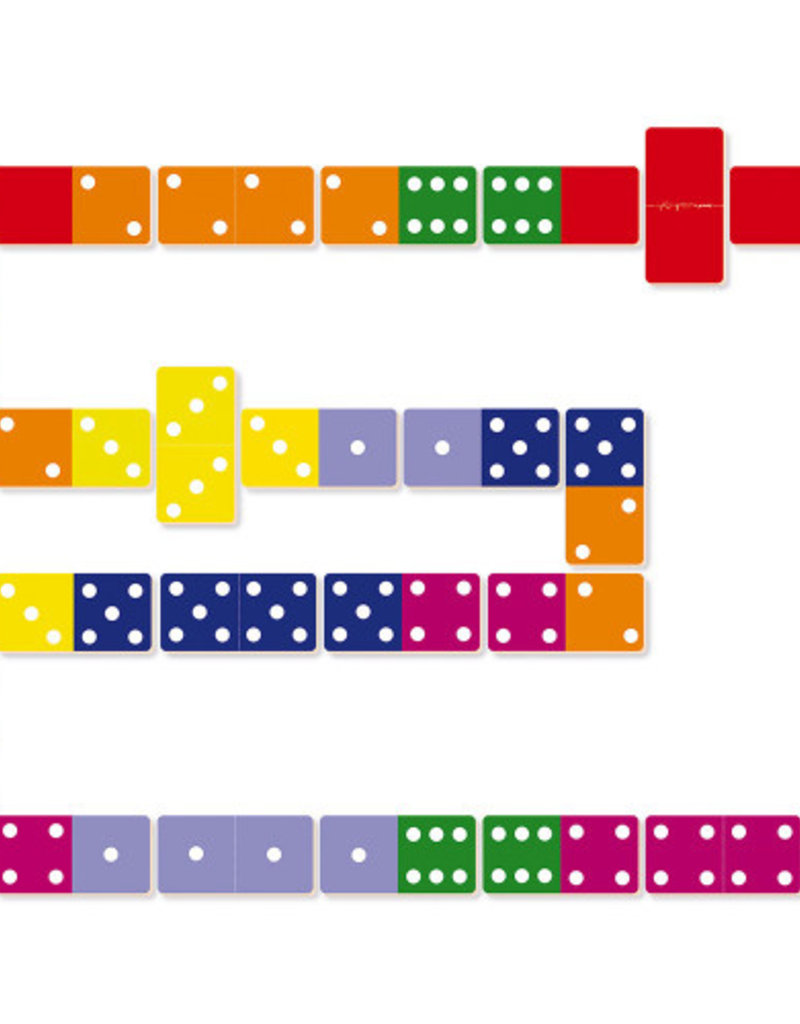 28 dominos géants Jungle