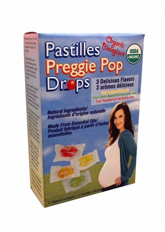 Preggie pop bio 12 pastilles contre les nausées