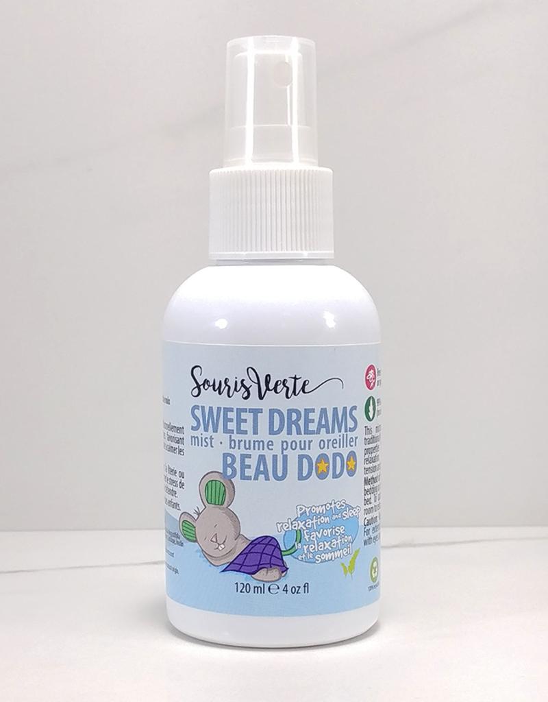 Souris Verte ''Beau dodo'' brume pour oreiller