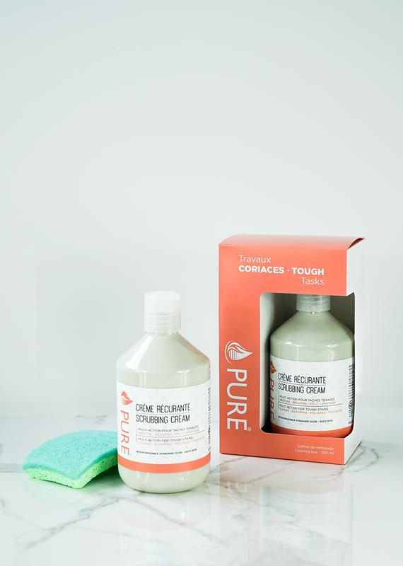 Coffret vitrocéramique/crème récurrante