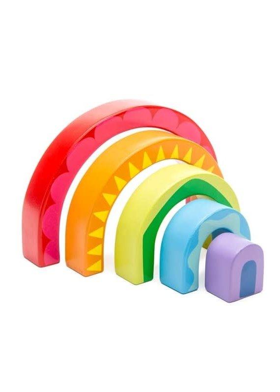 Le toy Van Tunnel Arc-en-ciel