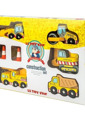 Le toy Van Ensemble de construction (5 véhicules)