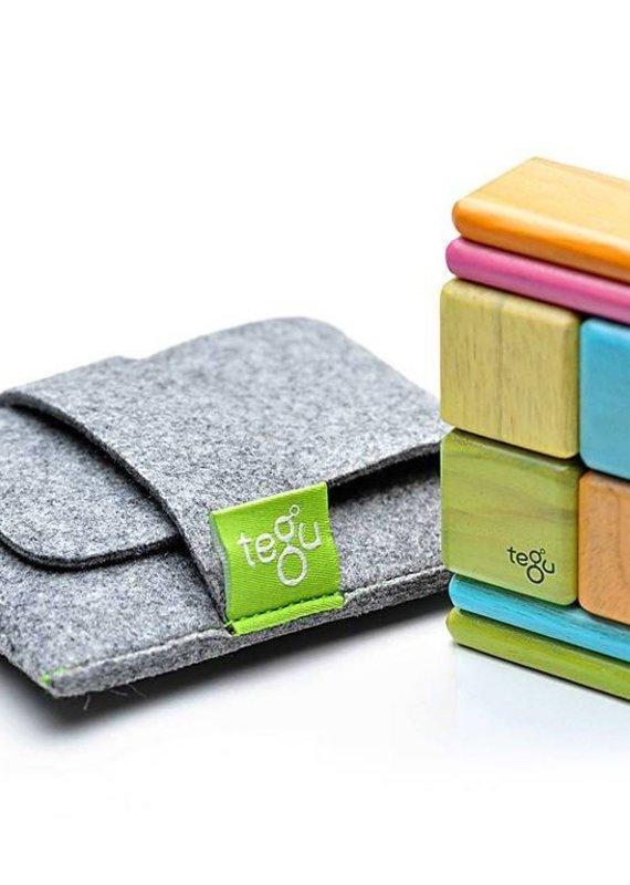 Tegu Ensemble de poche original - 8 pièces de bois magnétiques