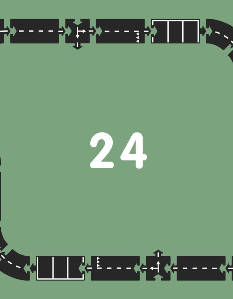 Waytoplay Autoroute - Piste 24 pièces