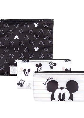 Sacs collation (2 petits, un grand) Love Mickey
