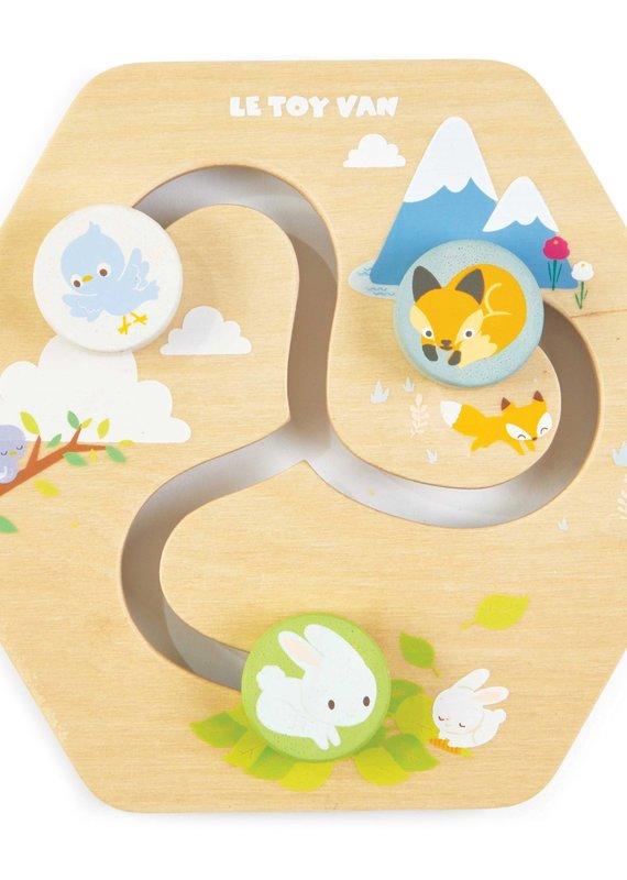 Le toy Van Chemins - Activité en nid d'abeille