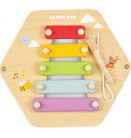 Le toy Van Xylophone - Activité en nid d'abeille