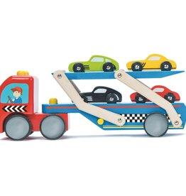 Le toy Van Camion de transport pour voitures de course