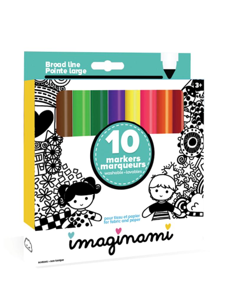Imaginami Marqueurs  lavables (10)