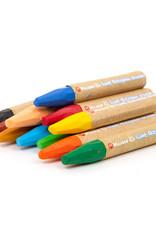 Crayons géants octogonaux (12)