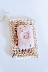 Culture Sauvage Pochette pour savon en sisal